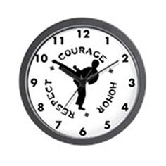CafePress  Martial Arts Male  Unique Decorative 10 Wall Clock >>> This is an Amazon Affiliate link. More info could be found at the image url.