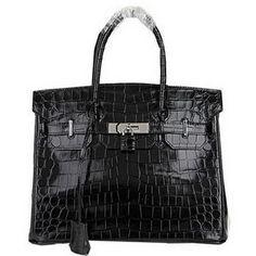 Wholesale Réplique Hermes Birkin 30CM Sacs fourre-tout noir irisé Croco  Leat - €288.32   réplique sac a main, sac a main pas cher, sac de marque    imitation ... 0f56819b9b9