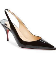 Slingback Shoes, Women's Pumps, Pump Shoes, Shoe Boots, Slingbacks, Stilettos, High Heels, Flats, Christian Louboutin Outlet