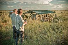 Photo of the week: A good rainy season turned the Kalahari green at Teufelskrallen Tented Lodge.