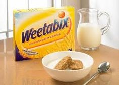 """'Weetabix' ~ my favorite cereal! A whole grain wheat cereal produced by Weetabix Ltd of the U.K. & exported to over 80 countries.Invented in Australia in the 1920s by Bennison Osborne.He & New Zealand partner Malcolm Macfarlane sold the rights for """"Weet-Bix"""" in Australia & New Zealand in 1930.Osborne & Macfarlane then formed the """"British & African Cereal Company Pty. Ltd."""",& began exporting the product to S. Africa.In 1932 they introduced the cereal to the British market & renamed it…"""