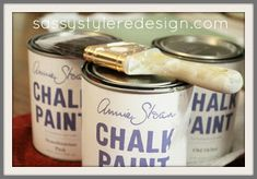 Annie Sloan Chalk Paint.. The Basics and where to buy