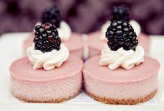 pink dessert cakes