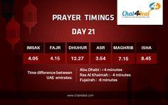 Prayer Timings, Day 21.  Maghrib @ 7.15 PM  Stay tuned to our page to know prayer timings every day. Have a blessed Ramadan.  #PrayerTimings #waitingforchat4deal #buyandsell #UAE #Dubai #Sharjah #Abudhabi #RasAlKhaimah #Ajman #UmmAlQuwain #Fujairah