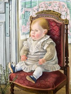 Baby In The Armchair