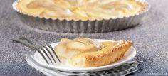 Tradičný francúzsky hruškový koláč