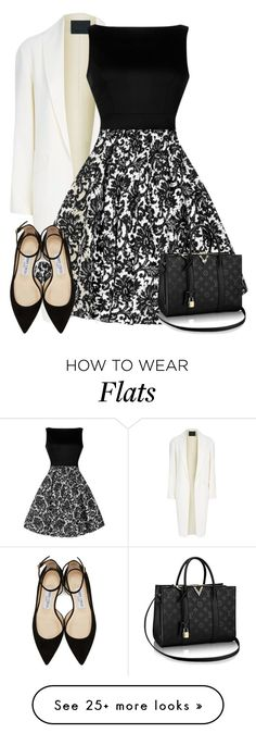 """""""Dress"""" by meen16 on Polyvore featuring Alexander Wang and Jimmy Choo"""