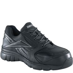 RB449 Reebok Women's Classic Performance Safety Shoes - Black