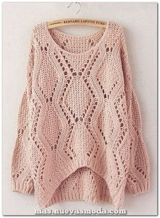 30 trendy Ideas for crochet shawl outfit sweaters Handgestrickte Pullover, Pullover Outfit, Sweater Jacket, Sweater Outfits, Cute Outfits, Big Sweater, Slouchy Sweater, Lace Sweater, Comfy Sweater