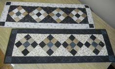 Simple 9-Patch Table Runner Parade | A Quilting Life - a quilt blog