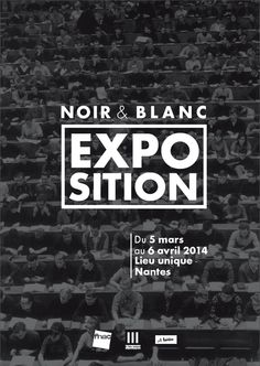 Affiche exposition photographique by Amaryllis PONDEVIE, via Behance