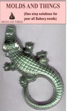 Animals LARGE ALLIGATOR Chocolate Candy Mold Soap 4 x 8 34 Good Product quality -- Want to know more, click on the image.(This is an Amazon affiliate link and I receive a commission for the sales)