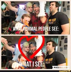 Just read the story you dip shit, Mark talks to Jack blah blah blah, … Fanfiction Pewdiepie Jacksepticeye, Cryaotic, Youtube Memes, Jack And Mark, Darkiplier, Best Youtubers, Cute Gay, Laughter, Fangirl