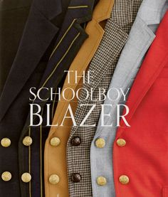Waiting for fall and lusting after J Crew's schoolboy blazers #blazer #fashion #jcrew