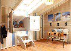 built-in hideaway bed for kids