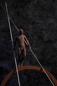 Cheval lunaire -      Mattia Trotta Metallica, Sculpture Art, Opera, Wire, Animals, Iron, Artist, Horse, Animales
