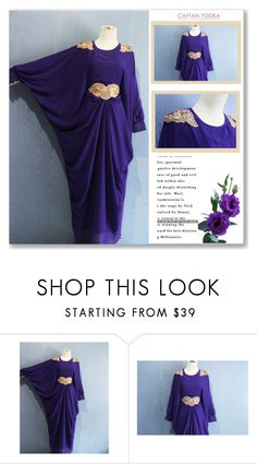 """""""Caftan Yosika"""" by amra-mak ❤ liked on Polyvore featuring caftanyosika"""
