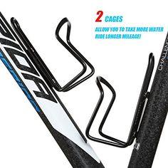 Amazon.com : Water Bottle Cages, UShake Basic MTB Bike Bicycle Alloy Aluminum Lightweight Water Bottle Holder Cages Brackets (2 Pack) : Sports & Outdoors