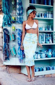 Rihanna #headwraps #headscarf