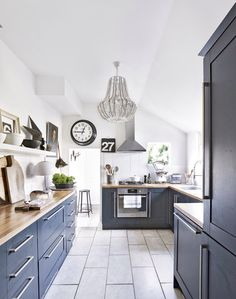 terrace house kitchen design ideas. Need traditional kitchen decorating ideas  Take a look at this with dark grey units and chandelier for inspiration terrace house design Google Search Caldwell