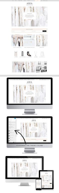 Aria - WordPress Theme. WordPress Blog Themes. $25.00