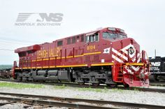 Norfolk Southern Heritage Locomotives - Our Colorful Heritage | Norfolk Southern – The Thoroughbred of Transportation | Creating green jobs shipping freight by rail