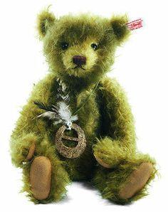 Steiff Jules The Jungle Teddy Bear Mohair EAN 034947 | eBay
