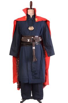Doctor Strange 2016 Film Dr.Stephen Benedict Cumberbatch Outfit Cosplay Costume_5