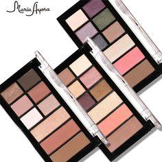 MARIA AYORA 9 Colors Eyeshadow Palette Matte&Shimmer Smoky Eye Shadow Palette Eyeshadow Makeup Kit Set Eye Makeup Beauty #Affiliate