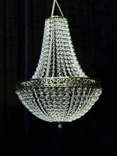 Beaded Renaissance Chandelier ($106)