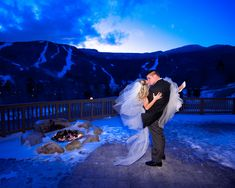 Winter Wedding at Stowe Mountain Lodge in Vermont