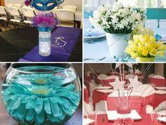 decoracion de centros de mesa sencillos para 15 años (2)-tile