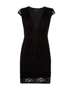 Black Lace Deep V Neck Mini Dress Now £17.00 Read more at http://www.newlook.com/shop/womens/dresses/black-lace-deep-v-neck-mini-dress-_311415101#5utaUGY3I7IZOwe6.99