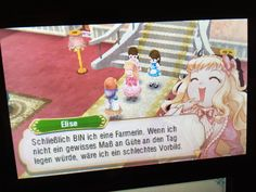 Story of Seasons, 3DS, Elise