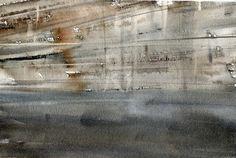 GRISAZUR: Acuarela sobre papel, 17x23 cm.Jun. 29, 2016