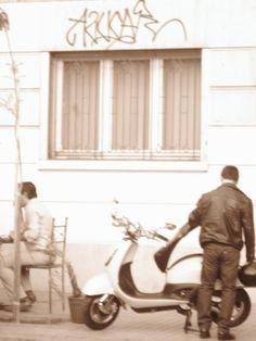 foto tomada en el barrio lastarria