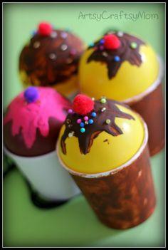 Artsy Craftsy Mom: Craft Class 3 - We scream for Ice Cream