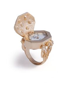 Faberge Watch Ring//