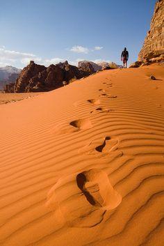 Wadi Rum, Jordan (by Universal Stopping Point).