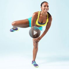Try the Fire Hydrant to firm your back, abs, butt, and legs-abduccion de cadera Health And Fitness Tips, Fitness Diet, Fitness Motivation, Toning Workouts, Butt Workout, Free Workout, Fitness Workouts, Back Exercises, Ab Moves