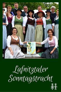 Die Lafnitztaler Sonntagstracht - das erste steirisch-burgenländische Dirndl.