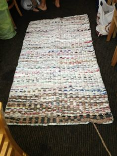 ​Need a new hobby? Try crocheting plastic bags into sleeping mats for those sleeping rough.