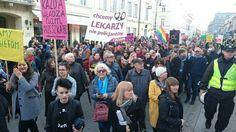 """""""Nienawidzimy Kościoła i zasad moralnych. I co nam zrobicie?"""" Bluźniercza Manifa w Warszawie - PCh24.pl - prawa strona internetu. Portal informacyjny. Opinie i komentarze w dobrym stylu"""