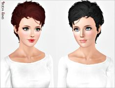 Hair 27 by Irida - Sims 3 Downloads CC Caboodle