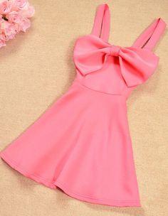0d4bbb7a840e5 Big Bow Dress Sexy Fashion Princess Dress