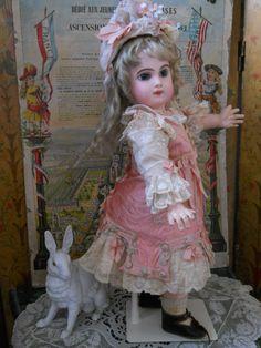 ~~~ Very Pretty French BeBe Three Piece Costume ~~~