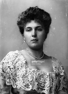 1904: Princess Victoria Eugenie (Ena) of Battenberg, (1887 - 1969), a grand-daughter of Queen Victoria, before her marriage to King Alfonso XIII of Spain.