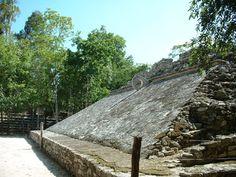 Mayan ball court at Coba