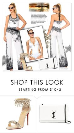 """""""Kupalniki-com  5"""" by amra-2-2 ❤ liked on Polyvore featuring Pippa, Christian Louboutin and Yves Saint Laurent"""