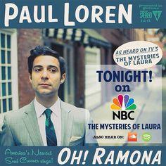 Our friend Paul Loren was on #MysteriesofLaura #PaulLoren #NBC #OhRamona https://soundcloud.com/paulloren/oh-ramona
